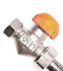 HERZ Термостатски вентил со континуирано отчитливо предподесување