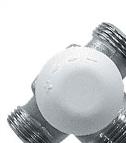 HERZ CALIS-TS - Трокрак вентил за термостатско регулирање