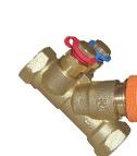 HERZ - Регулационен вентил со мерна бленда на електромоторен погон
