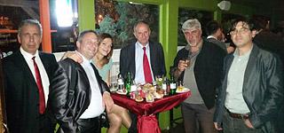 Прослава со деловните партнери во Македонија
