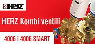 HERZ Комби вентили 4006 и 4006 SMART